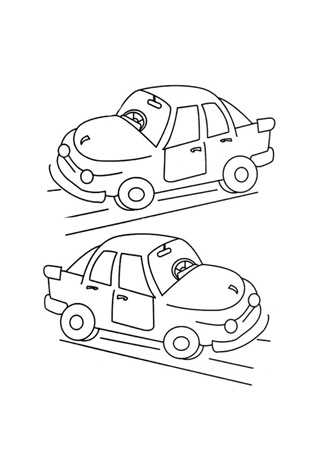 car 23 - Coloring Pages Cars Trucks